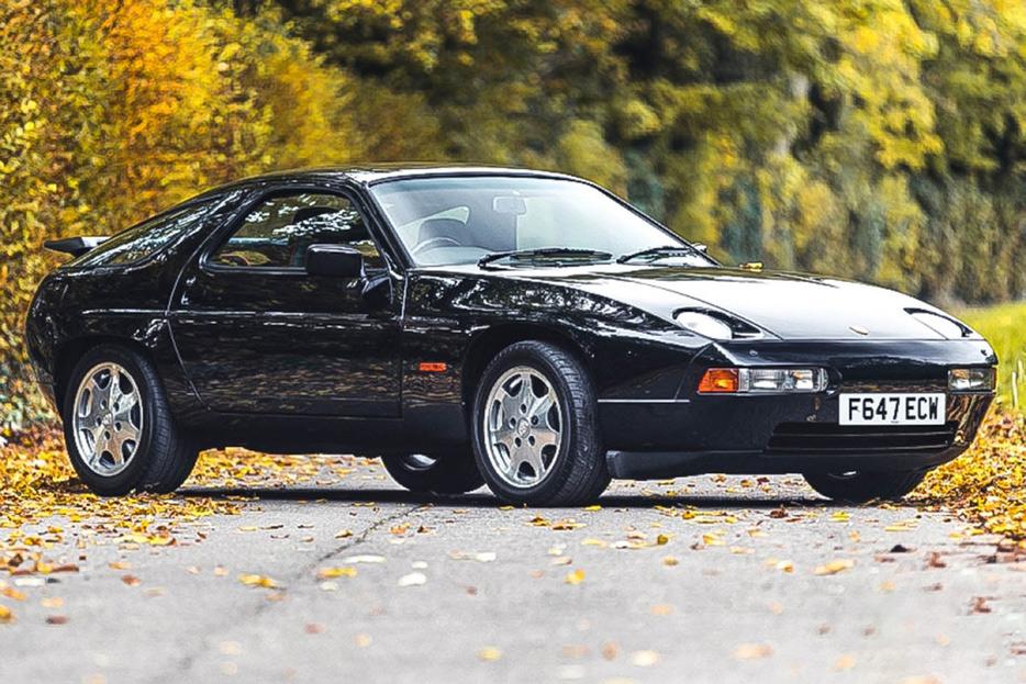 ラグジュアリーでいてスポーティなポルシェ「928 S4」(C)SILVERSTONE AUCTIONS